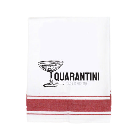Quarantini Make Original Kitchen Towel