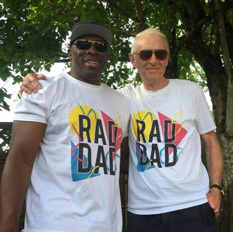 Rad Dad Make Original White T-Shirt Mens
