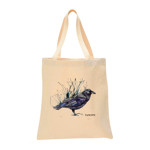 Raven Make Original Natural Tote