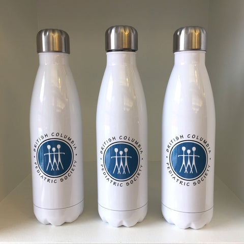 Pediatric Society Sublimated Water Bottles