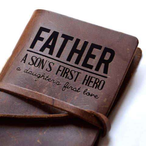 Father's Day Laser Engraved Journal