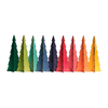 Tannenbaum Tree - Itty Bitty - Mod - Set of 12