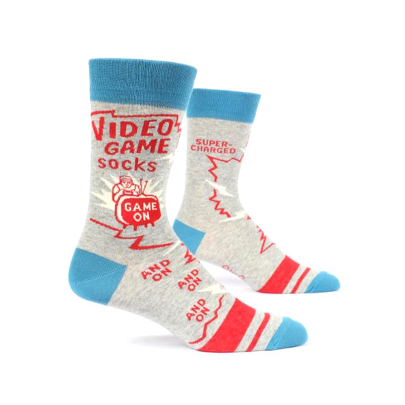 Mens Crew Socks - Video Games