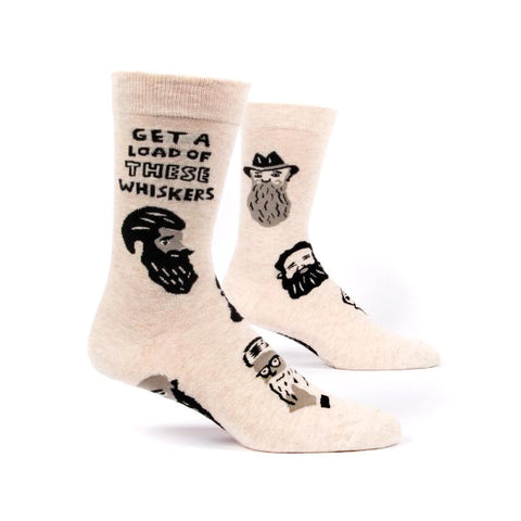 Mens Crew Socks - Whiskers
