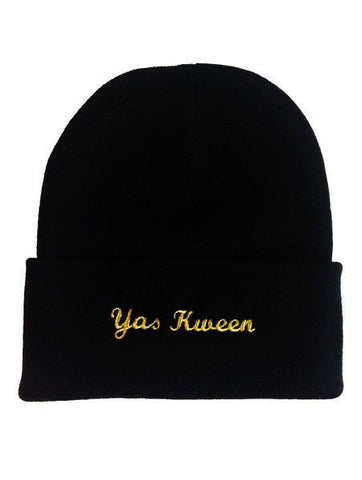 Yas Kween Make Original Black Toque