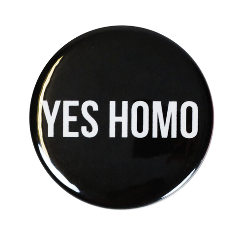 Yes Homo - Button
