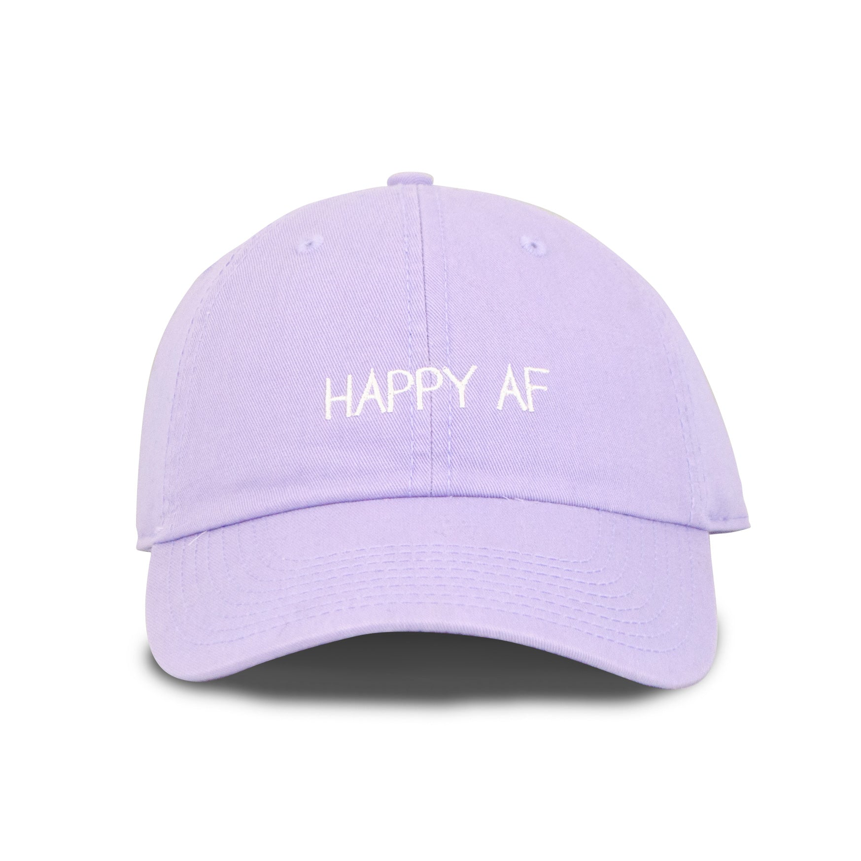 Happy AF Make Original Lavender Chino Cap