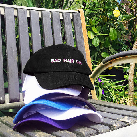 Bad Hair Day Make Original Black Chino Cap
