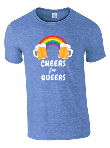 Cheers for Queers Make Original Colour T-shirt Mens