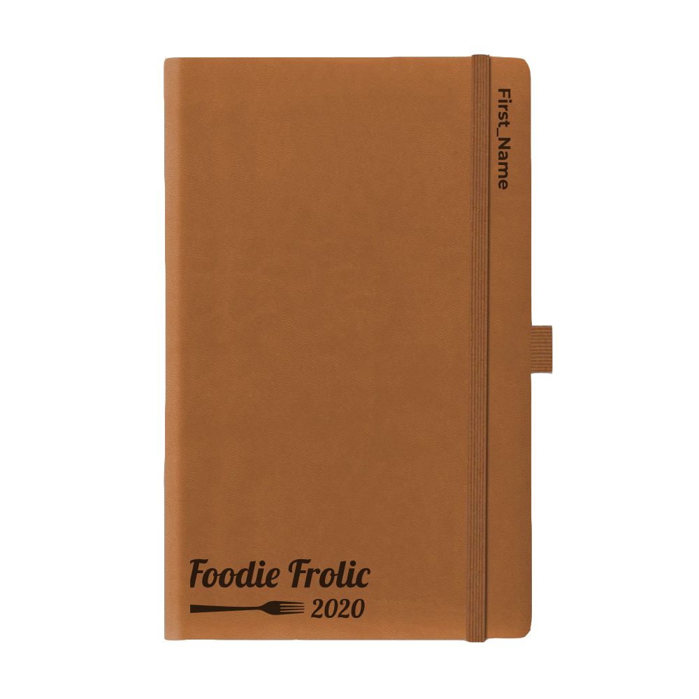 Foodie Frolic Journal 2020