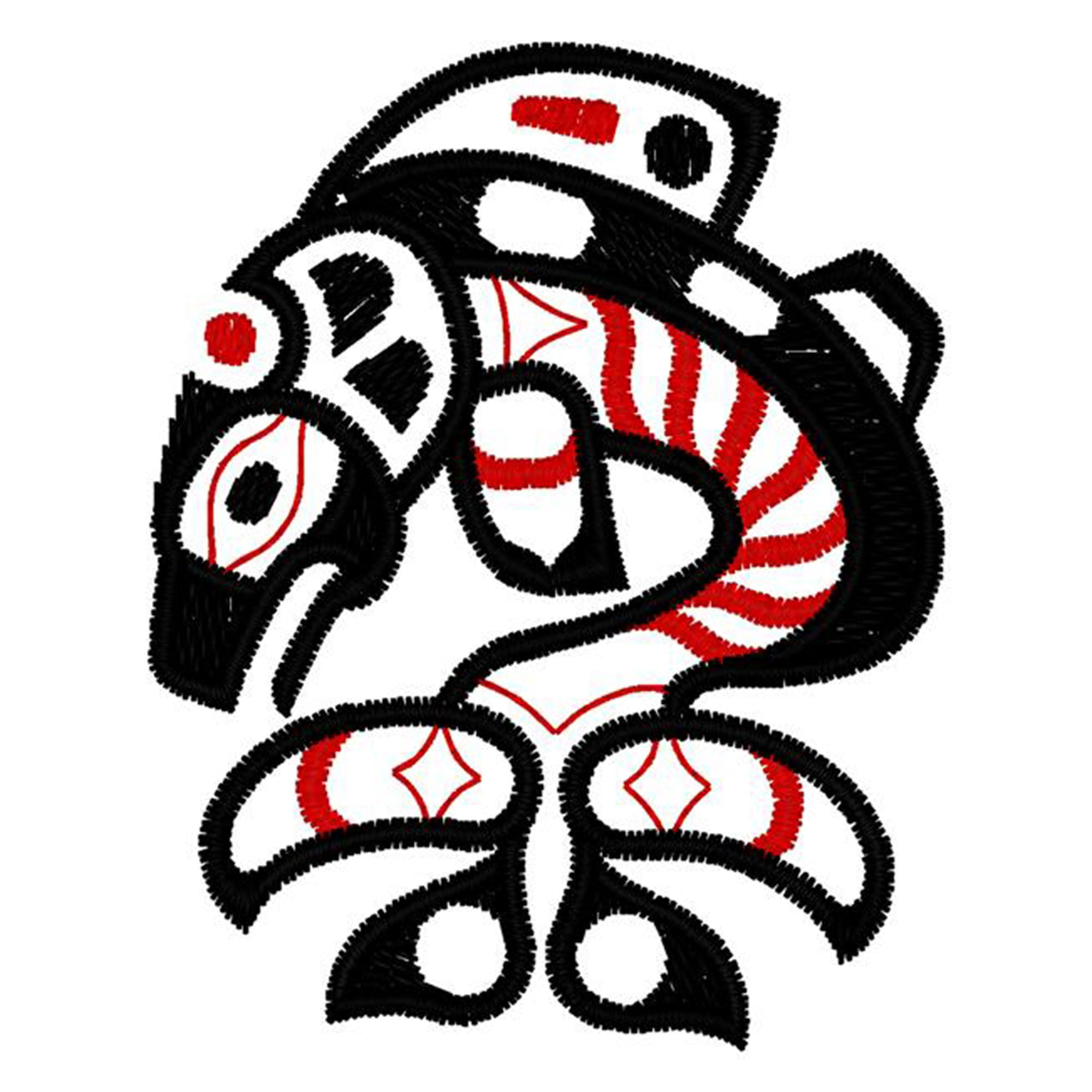 Native Art - Small Killer Whale