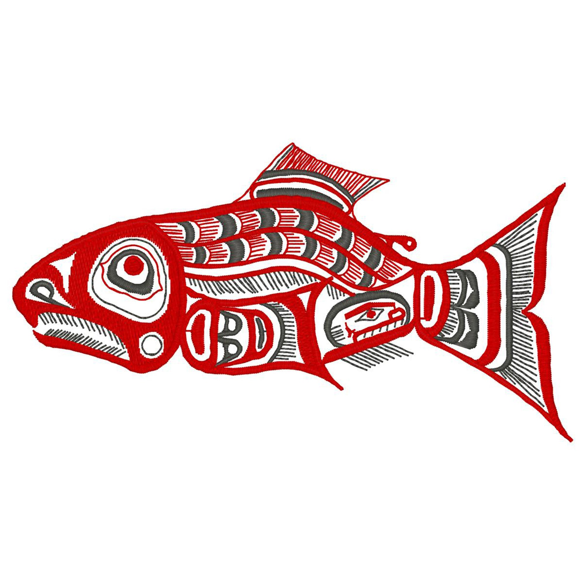 Native Art - Fish