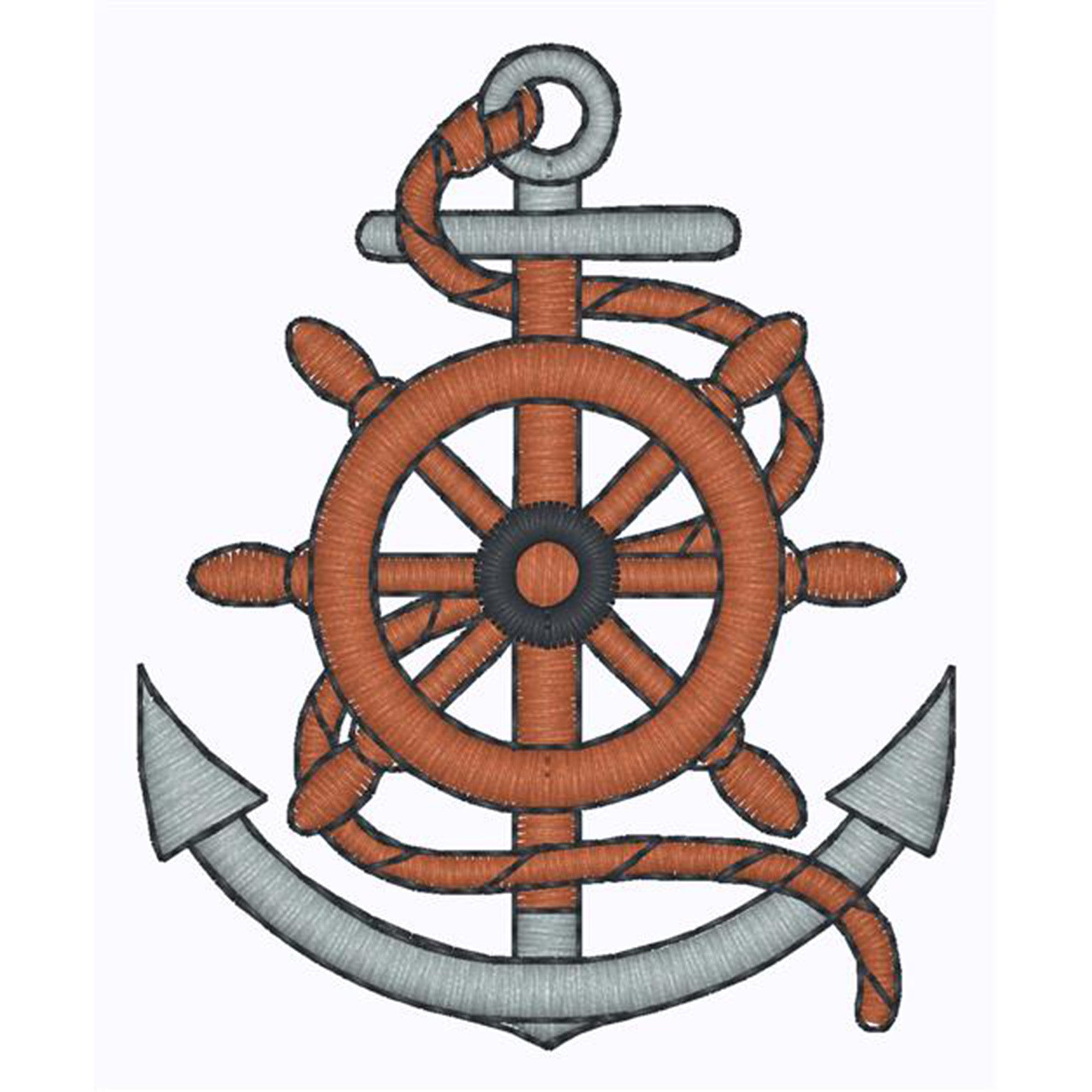 Nautical - Anchor and rope