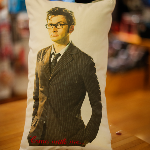 Dr. Who Pillow