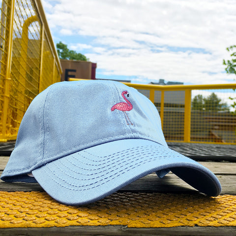 Flamingo Make Original Sky Blue Chino Cap