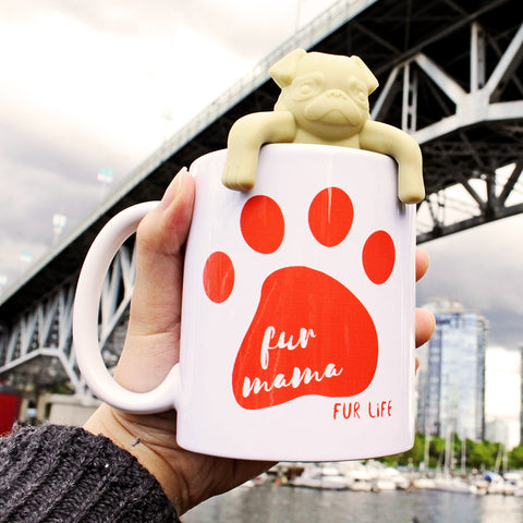 Fur Mama Fur Life Make Original White Mug