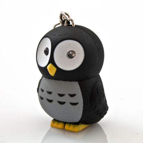 LED Owl Keychain