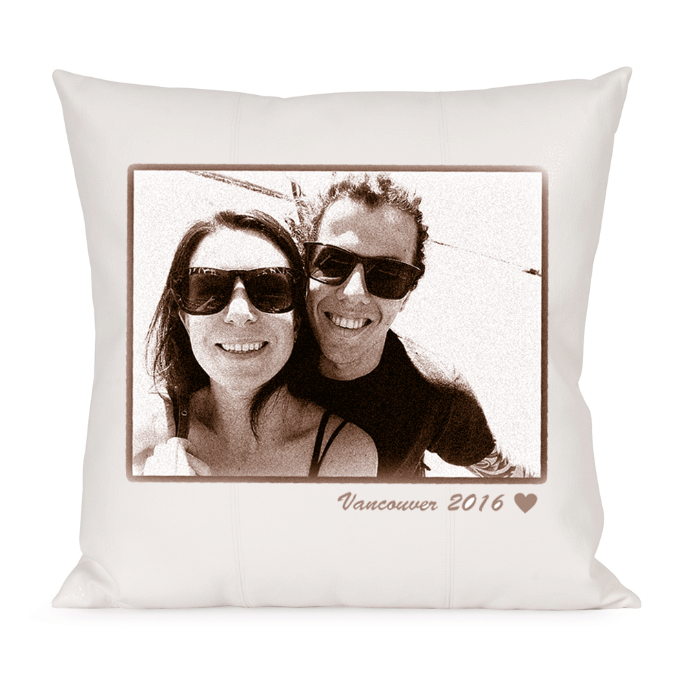 Custom Lovebirds Pillow