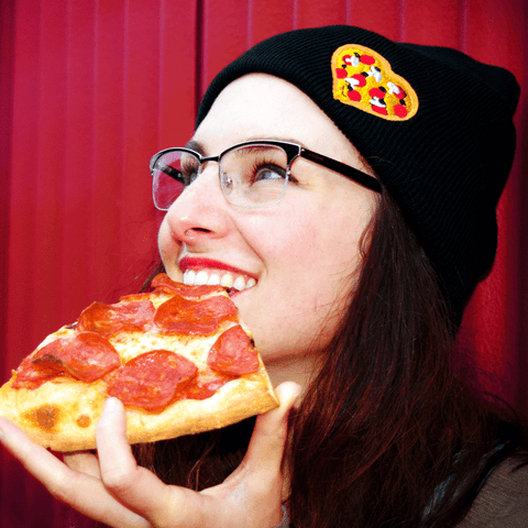 Pizza Heart Make Original Toque