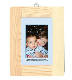 "Rectangle Wood Photo Frame - 6.5"" x 8.5"""