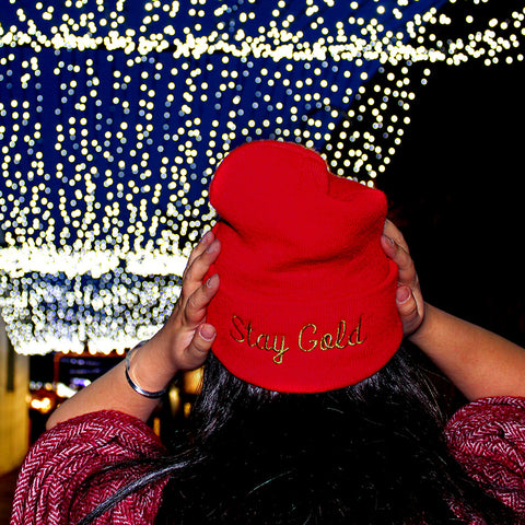 Stay Gold Make Original Toque