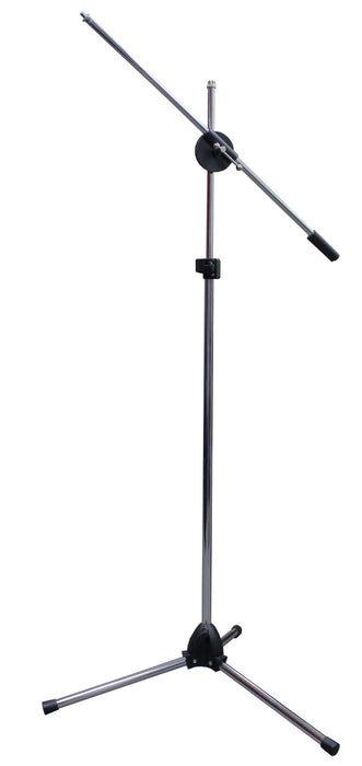 Mic Stand 2 Way Silver