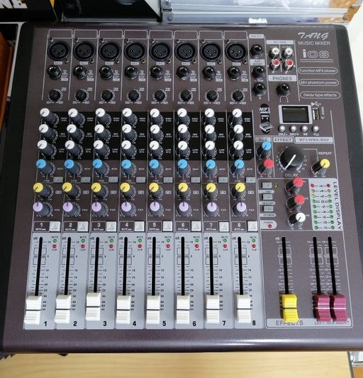8 Channel Audio Mixer MG08XDSP