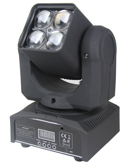 LED Moving Head RGBW Zoom ACL4201A  60w