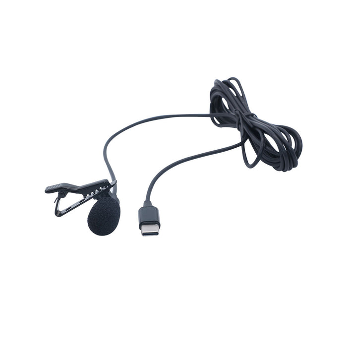 Clip on Mic Lavalier Lapel Microphone 3.5mm