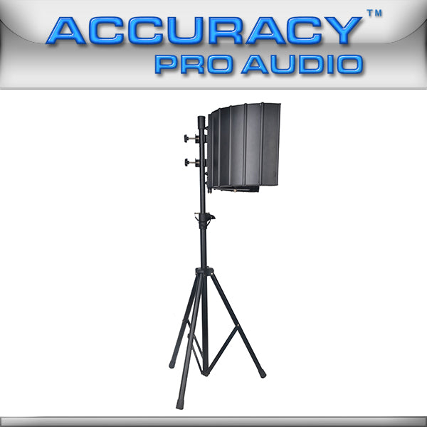 Microphone Isolation Reflector and Stand