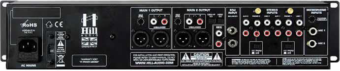 Hill Audio PSM2220 Stereo Production Mixer
