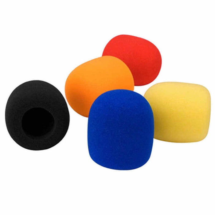 Mix Pack x 5 Sponge Cover for Hand held Mics