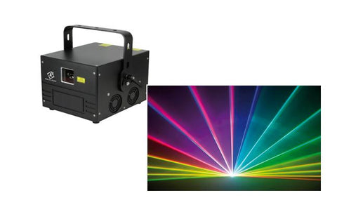 1.2Watt RGB Pandora Beam Series Animation Laser