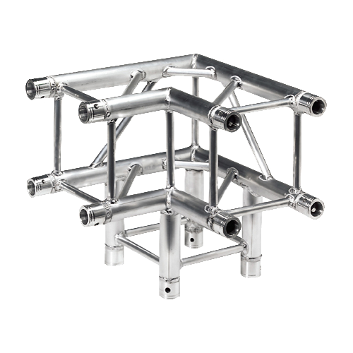 Quick Truss 90deg 3 way corner Quad 290mm
