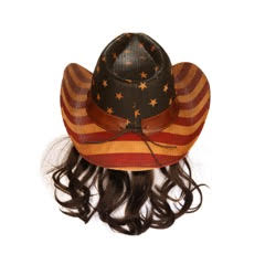 Frobie Keith American Cowboy Hat with Brown Mullet