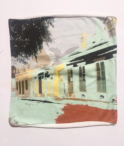 City Block pillow