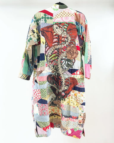 Snake and Spine Caftan
