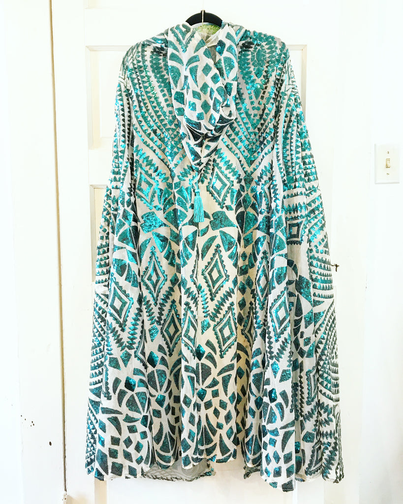 Art Deco Cape