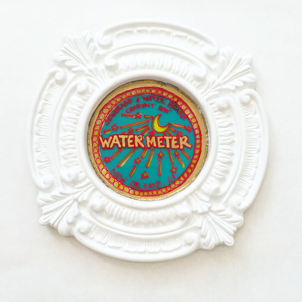 Small Water Meter Painting