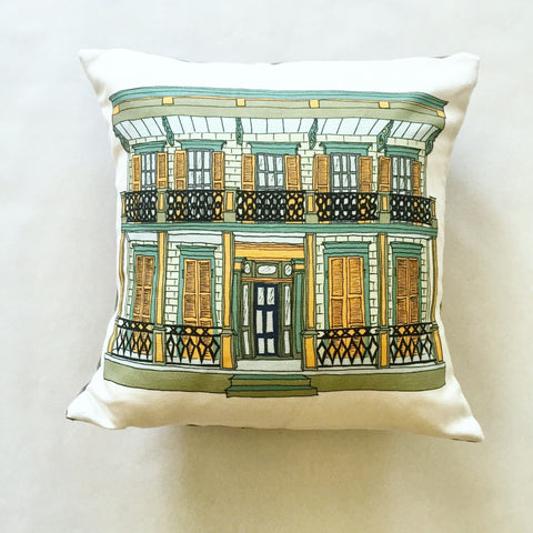 NOLA Mansion Pillow