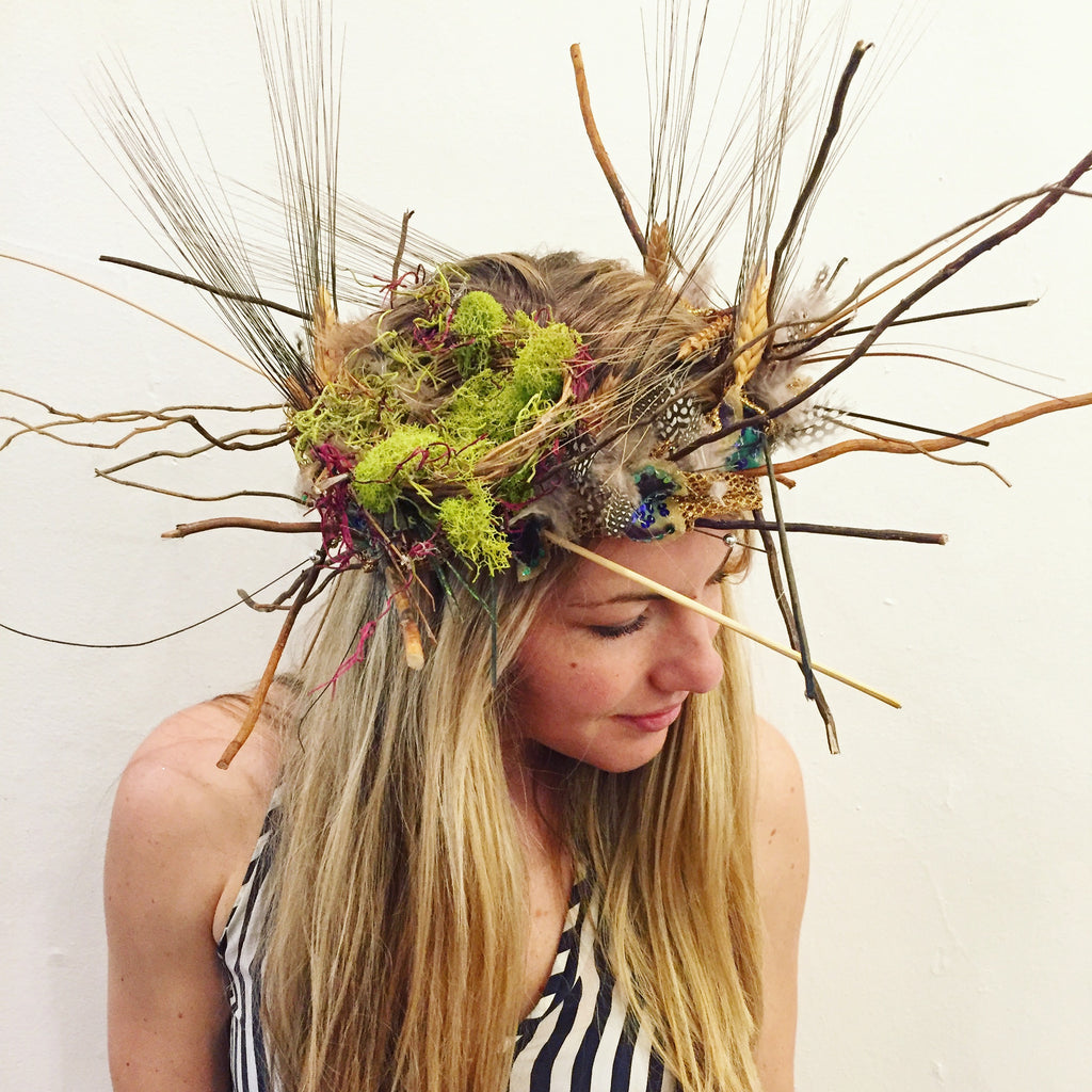 Virtual Carnival Wood Nymph Headdress Workshop Kit