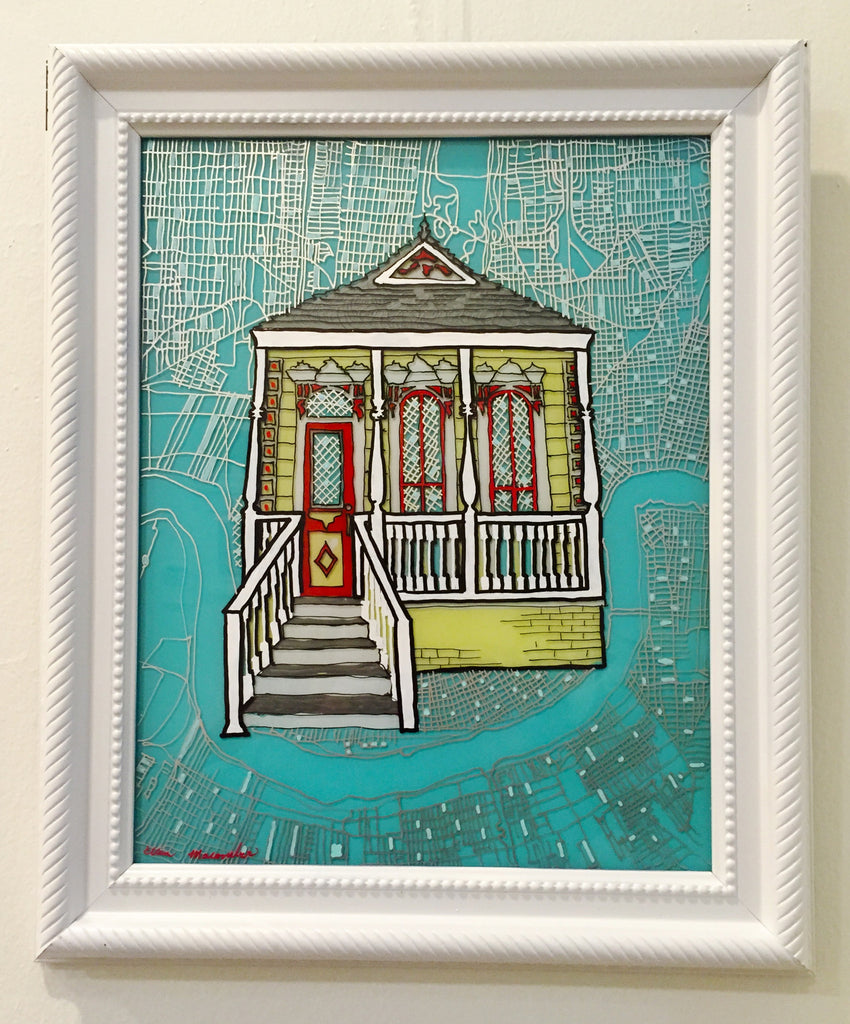 Shotgun House Painting