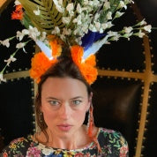 Private In Person Headdress Workshop for Ten People (3 hours)