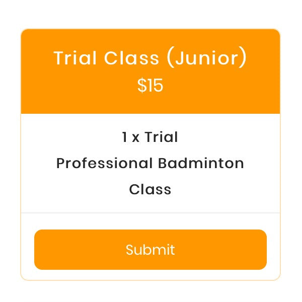 Trial Class Register (Junior)