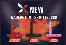 Load image into Gallery viewer, X New Badminton Shuttlecock  / Red /  Tournament Grade