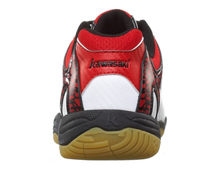 Kawasaki Badminton Shoes K-063 (Red) US5 EUR37