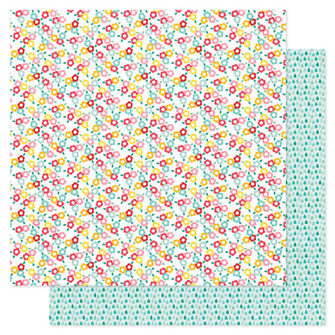 Pink Paislee Hello Sunshine Paper Puddle Jumper