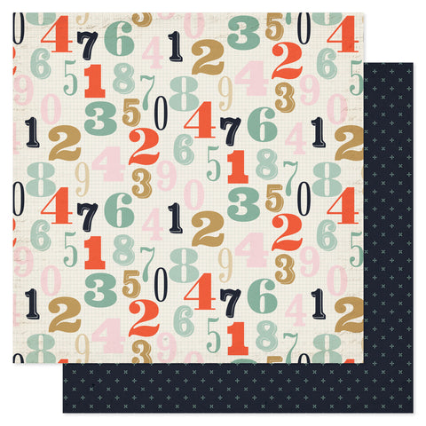 Pink Paislee Switchboard Paper Dial Up