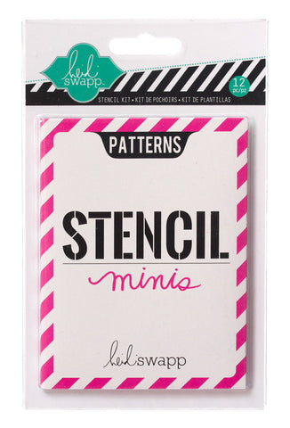 Heidi Swapp Stencil Minis: Patterns