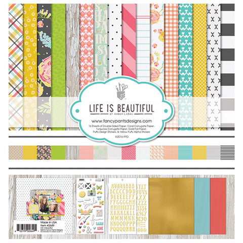 12 x 12 paper collection - Fancy Pants Life is Beautiful